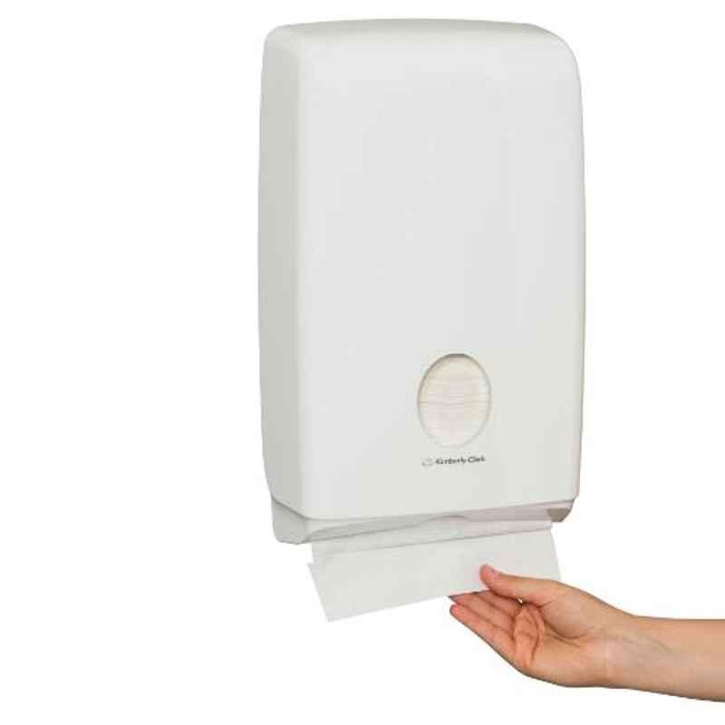 Kimberly Clark Aquarius Compact Fold (C Fold) Hand Towel Dispenser, 70240