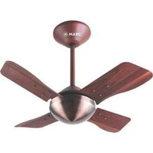 Marc Sparkle 72W Copper Rosewood Ceiling Fan, Sweep: 600 mm