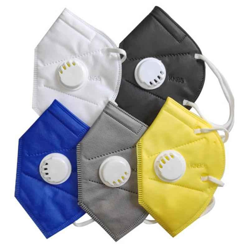 Noble KN95 5 Layers Non Woven Mask (Pack of 5)