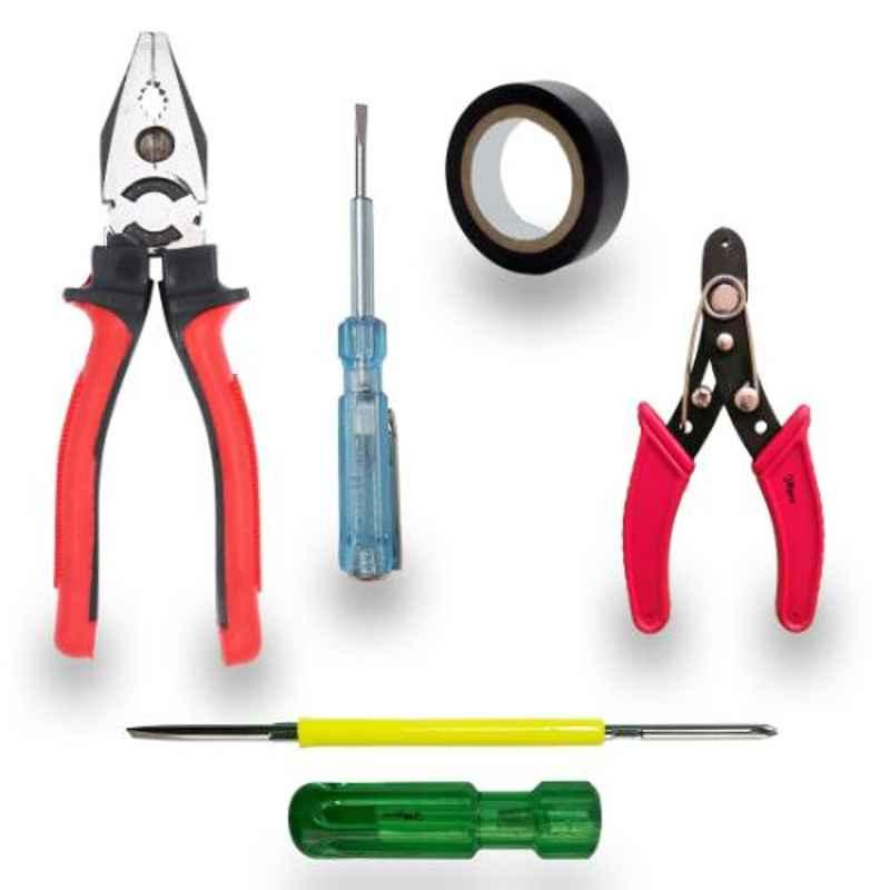 Hillgrove HT-15 5 Pcs Hand Tool Kit, HG0032