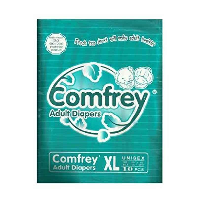Comfrey 10 Pieces Extra Large Adult Diaper
