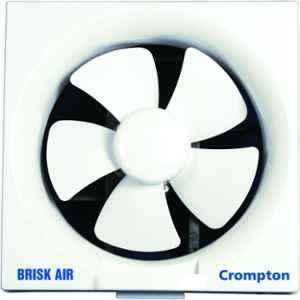 Crompton Brisk Air 50W White Exhaust Fan, Sweep: 200 mm