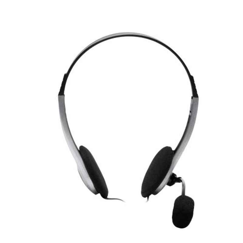 Fingers H527 Black & Dark Silver Wired Headphone with Mic
