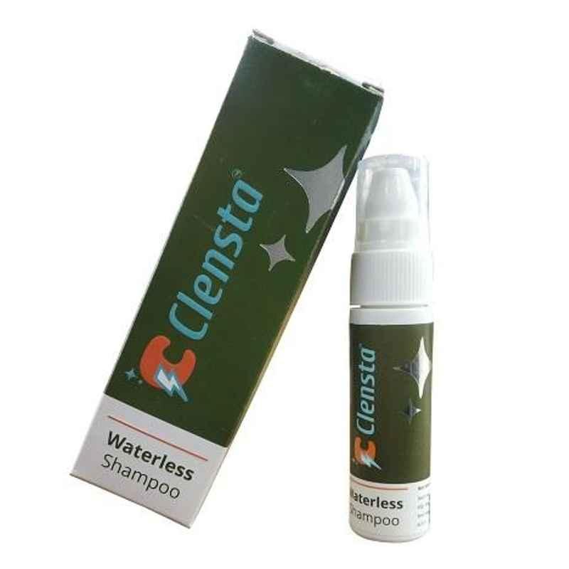 Clensta 80 g Antiseptic Waterless Shampoo, CIWS001-25