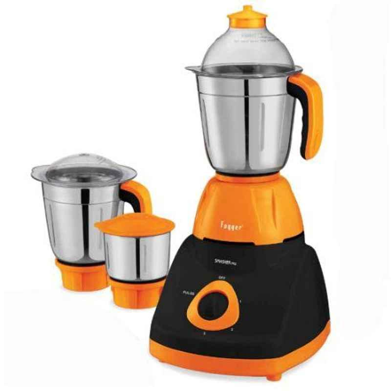 Fogger Smasher Pro 750W Orange Grinder with 3 Jars