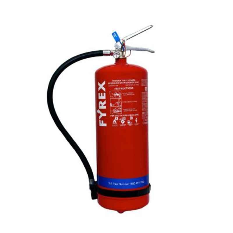Fyrex Stored Pressure MAP 50 9kg ABC Fire Extinguisher, F0004