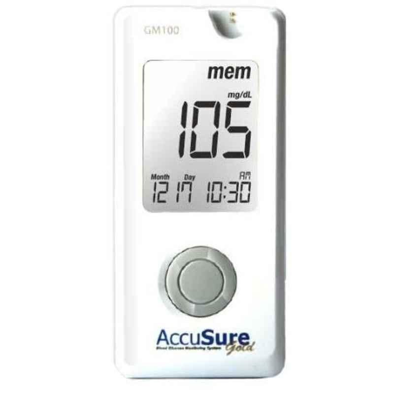 AccuSure Gold Blood Glucose Monitoring System