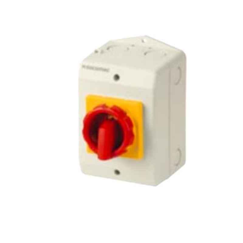 Socomec COMO 4 Pole 25A Enclosed Load Break Switch, 21154402G