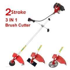 Neptune 1.95HP 52cc 2 Stroke Red 3-in-1 Brush Cutter with 3 Blades, BC-520