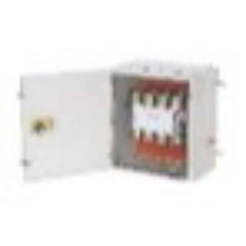 Indoasian 160A 4P On-Load Changeover Switches 4 Pole In Sheet Steel Enclosure, ICAS0160