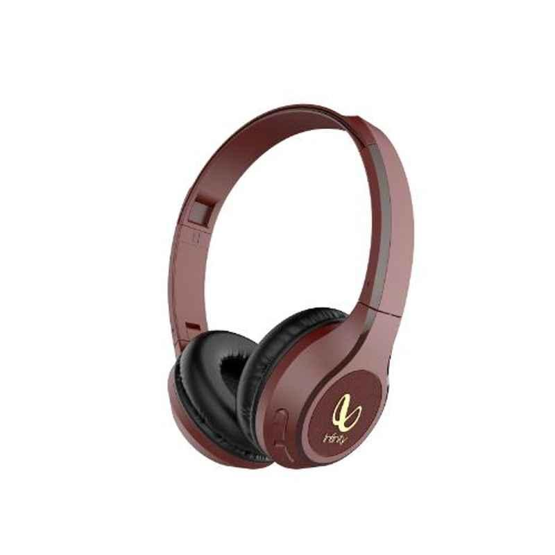 Infinity by Harman Tranz 700 Maroon on Ear Bluetooth Headset with Mic, INFTRZ700RED