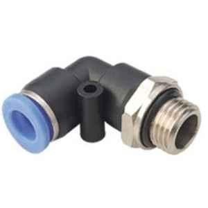 Techno PL Male Elbow Push Type Fitting 6-04' Thread Size 6 mm