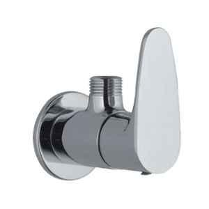Jaquar Vignette Prime Stainless Steel Angular Stop Cock with Wall Flange, VGP-SSF-81053