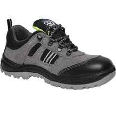 Allen Cooper AC-1156 Antistatic Steel Toe Grey & Black Safety Shoes, Size: 10