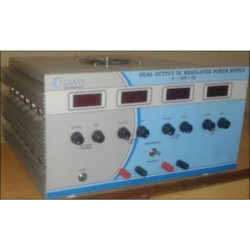 Crown 30 V 2 A Multiple Output DC Regulated Power Supply CES 602M