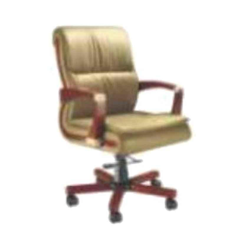 Nice Furniture Low Back Wooden Base Executive Office Chair, NF-025