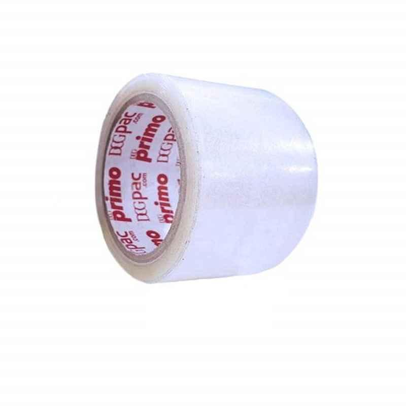 Primo 72mm 40 micron 65m Transparent Bopp Tape (Pack of 24)