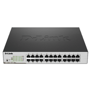 D-Link 1000Mbps 24 Ports Manageable Switch, DGS-1210-28