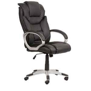Caddy PU Leatherette Adjustable Study Chair with Back Support, DM48
