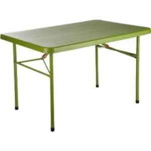 Supreme Swiss Mehndi Green Plastic & Polypropylene Rectangle Outdoor Table