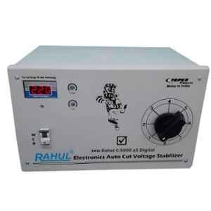 Rahul C-5000 A5 Digital 5kVA 20A 90-260V Autocut Voltage Stabilizer for Mainline Use