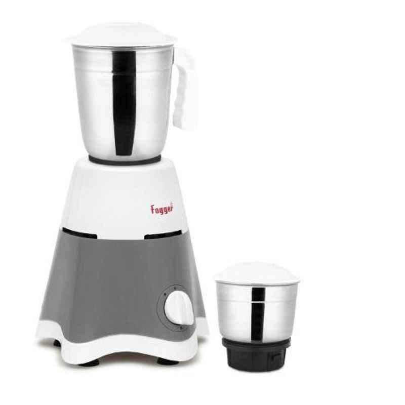 Fogger Star 500W Gray & White Mixer Grinder with 2 Jars