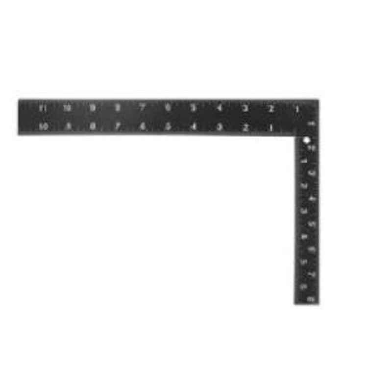 Kristeel Shinwa Engineers Square Graduated 250x300x2mm Black Colour with white Graduation on both sides 3969
