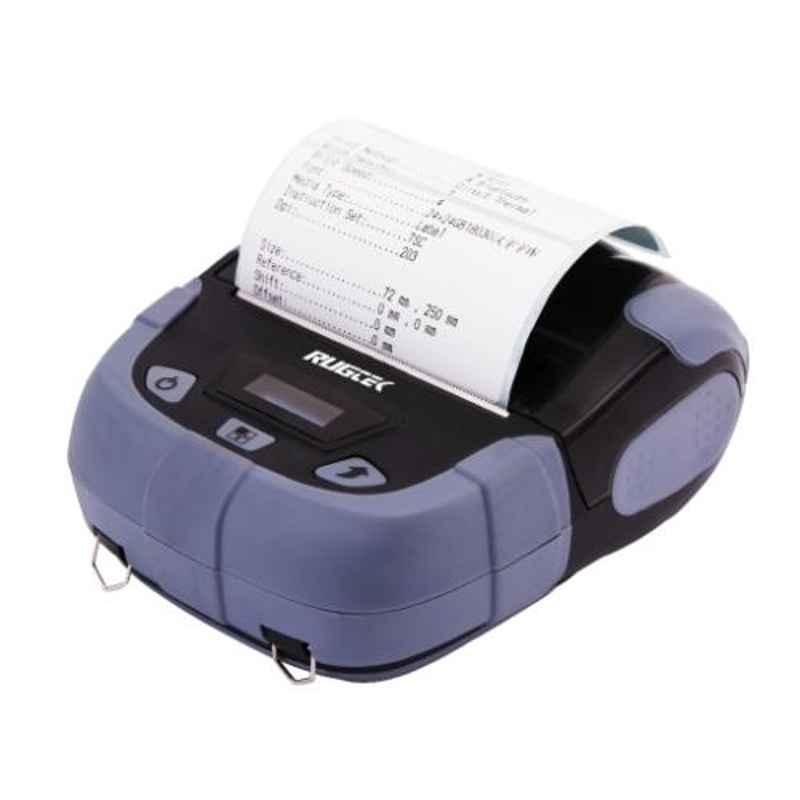 Posiflex Rugtek BP03-L BU Bluetooth & USB Portable Label Printer