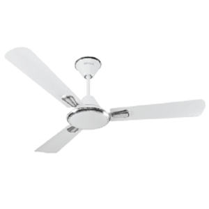 Havells Festiva 1200mm Pearl White & Silver Ceiling Fan, 400 rpm