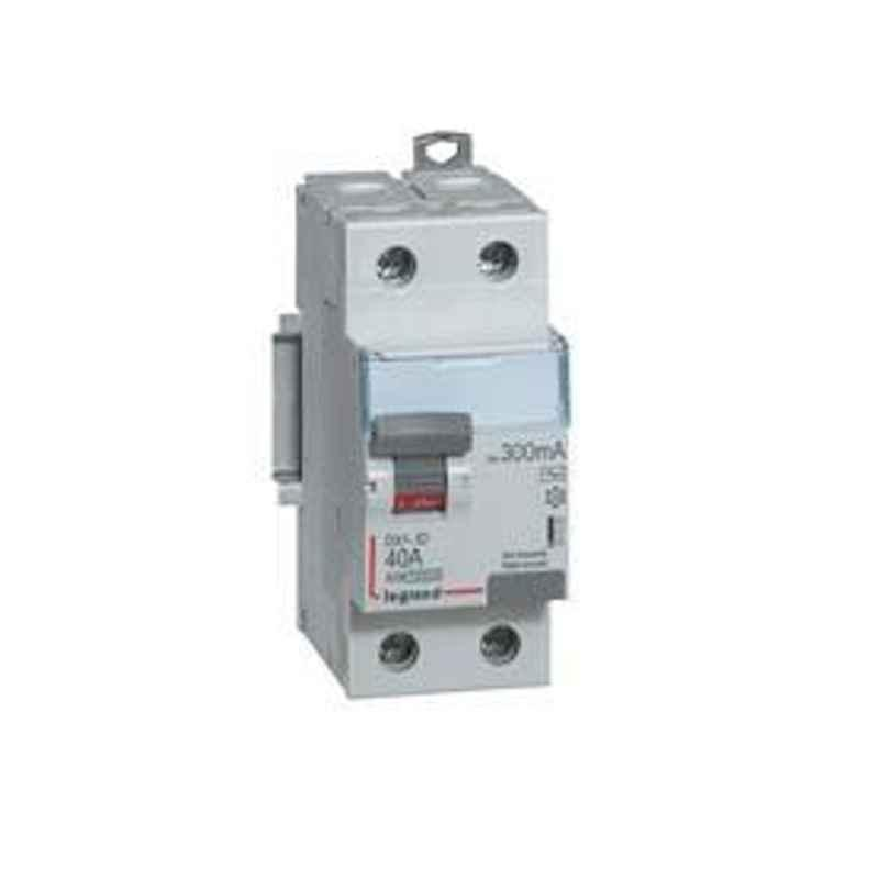 Legrand DX³ 2 Pole 40 A Residual Current Circuit Breaker 240V 4118 62