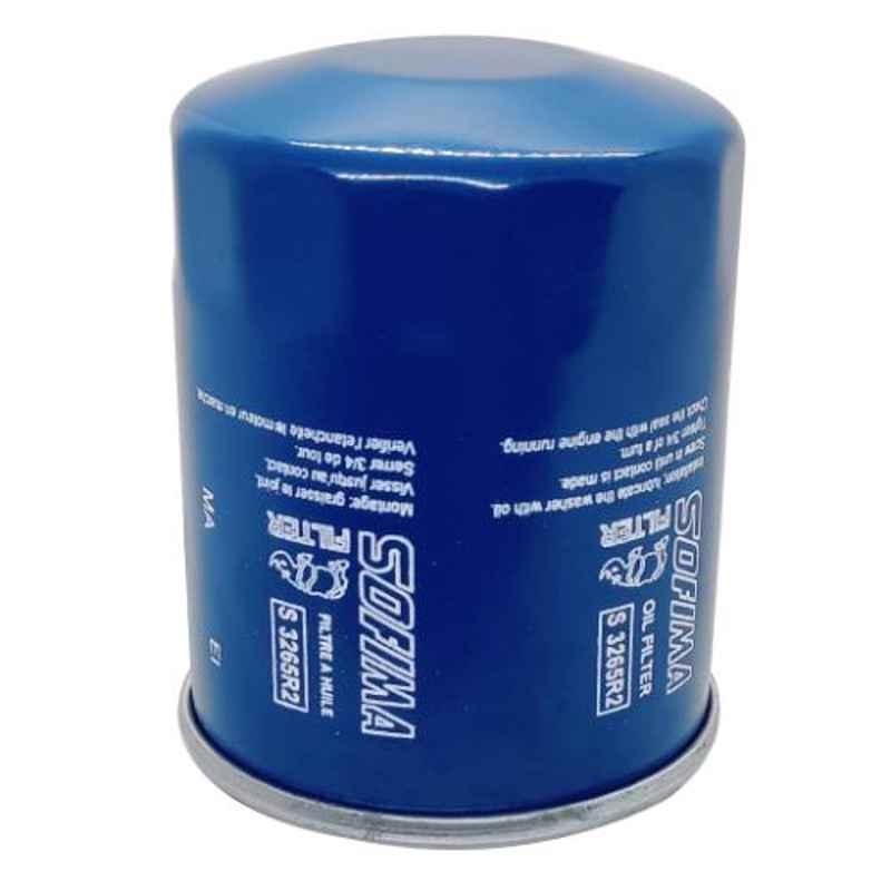 Sofima Oil Filter for Hyundai Santro & Lancer, S3265R2