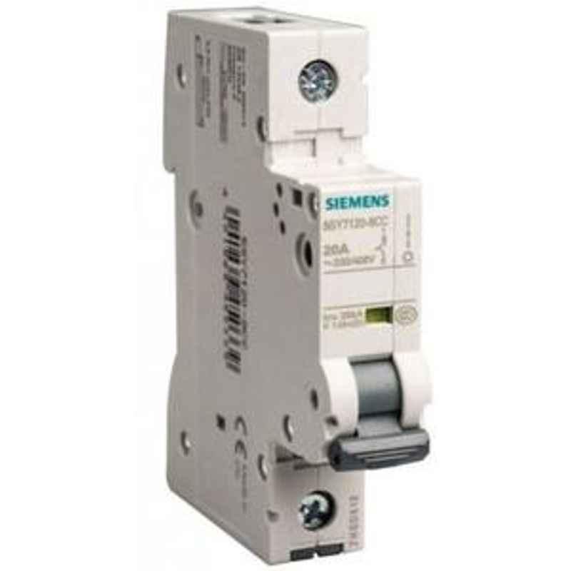 Siemens 5SY51017CC 1 A Betagard Miniature Circuit Breakers
