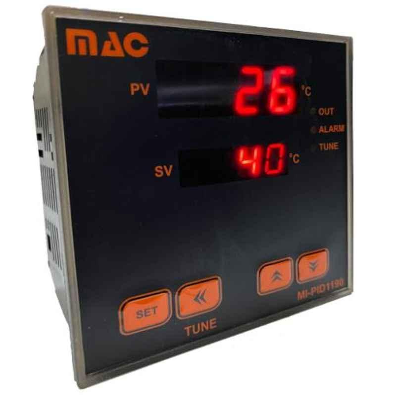 MAC 96x96mm PID Temperature Controller, MI-PID1190