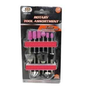 GSK Cut 12Pcs 1/8 inch Rotary Tool Assortment Set