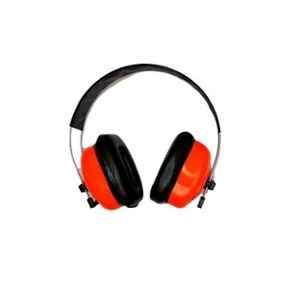 SSWW Black & Orange Plastic Foldable Ear Muff, SSWW441