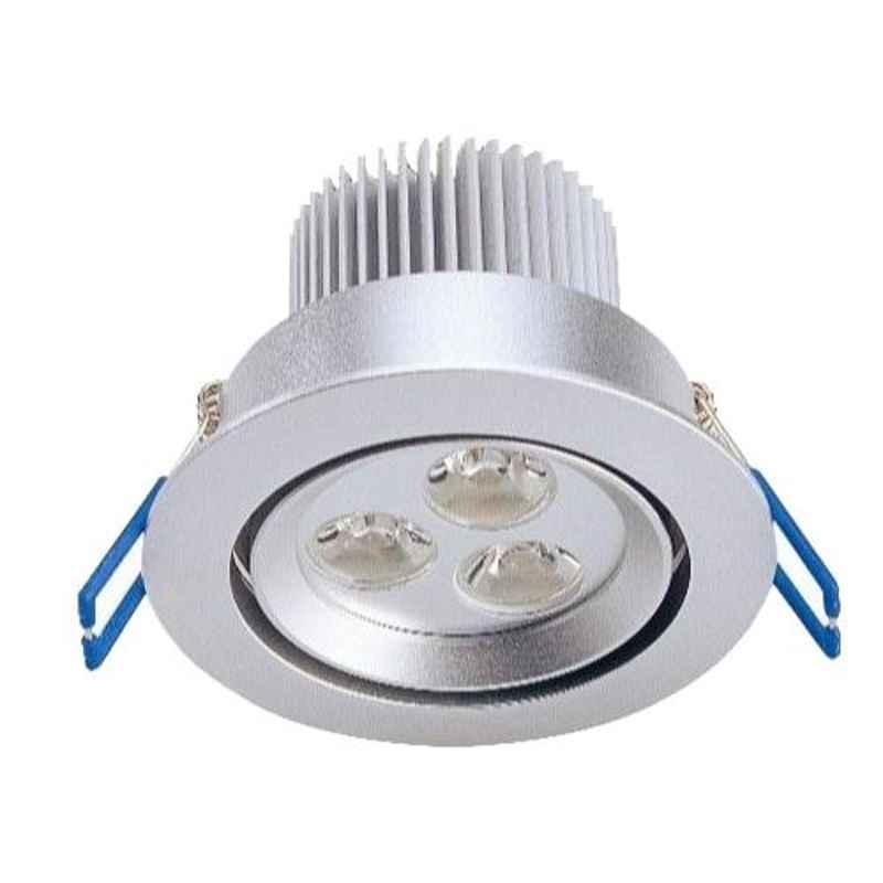 Syska Eco 24W 4000K Fix LED COB Down Light, SSK-DLE-24W-FIX