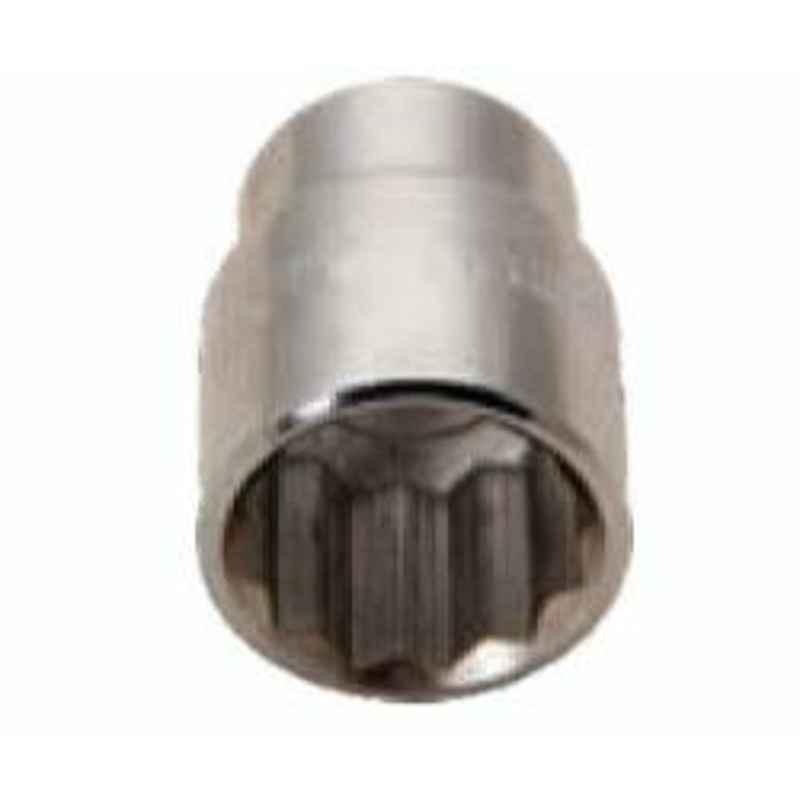 De Neers 24mm 1/2 inch Square Drive Hexagonal Socket