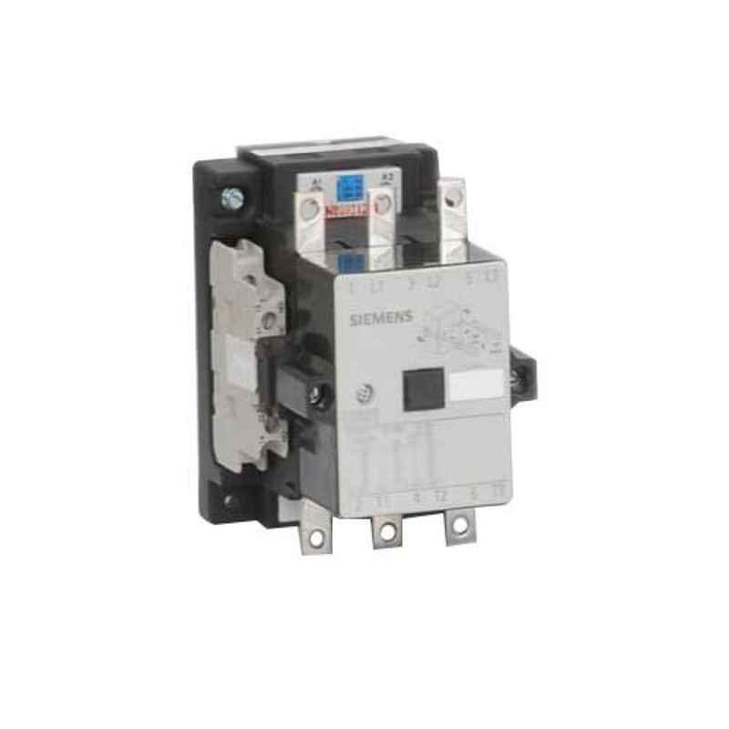 Siemens Sicop 63A 110V 2NO+2NC Triple Pole Contactor, 3TF47020AF0ZA01