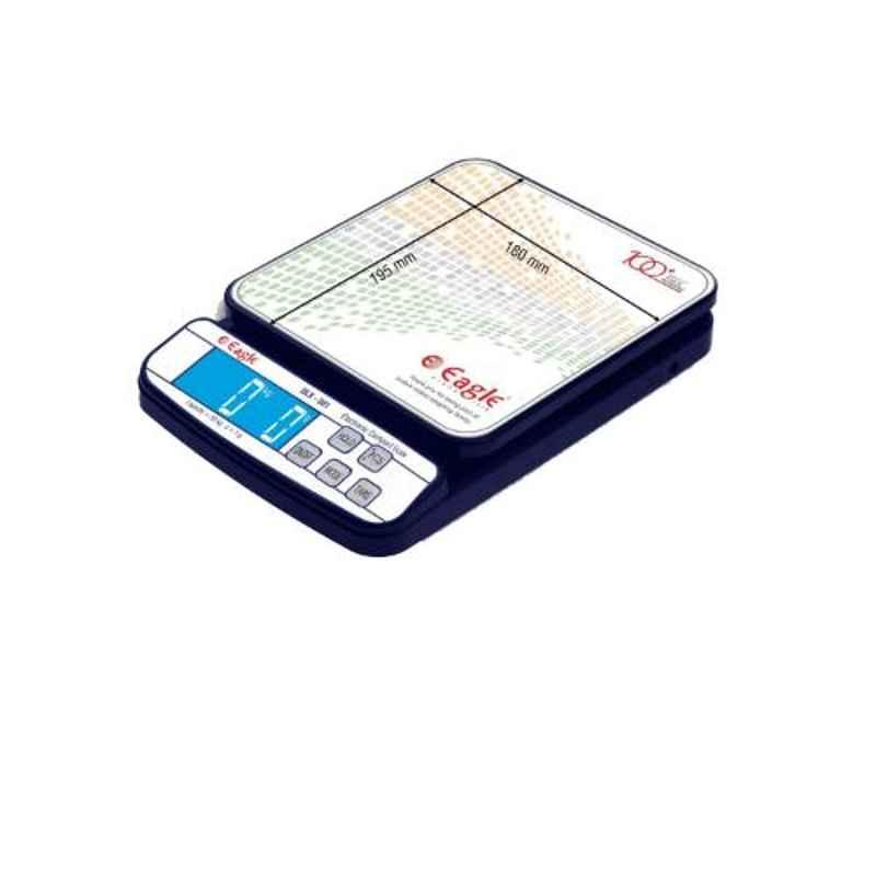 Eagle ABS & Stainless Steel Multipurpose LCD Screen High Precision Digital Weighing Scale, DLX-501