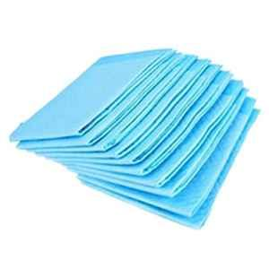 Feel Free Quilted Blue Disposable Underpad Sheets, Size: 60x90cm (Pack of 10)