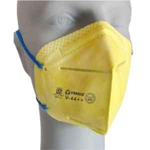 Venus V-44++ Yellow Dust Safety Respirator Mask (Pack of 50)