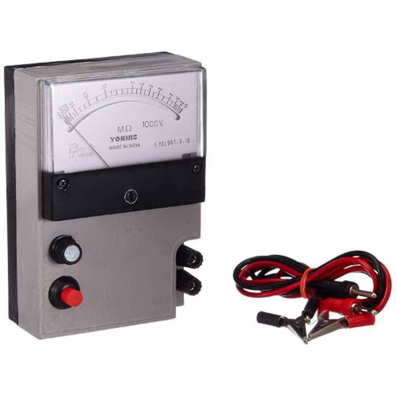 Yokins ABS Battery Operated 1000V Megger Insulation Tester, 200MOhms