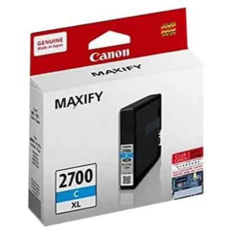 Canon Maxify PGI-2700XL C Cyan Ink Cartridge