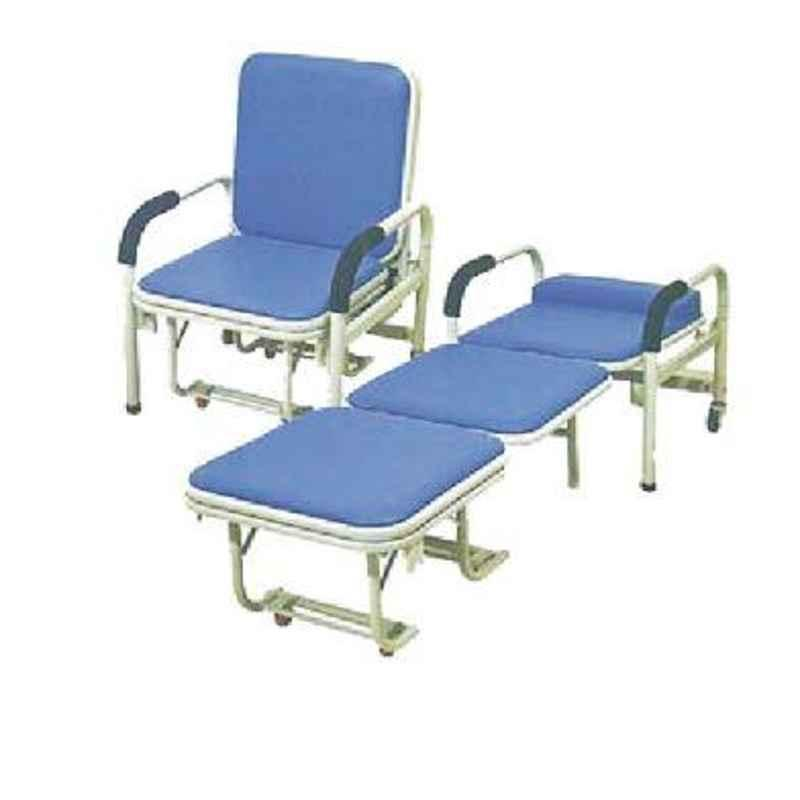 Aar Kay 188x50x40cm Attendant Bed cum Chair