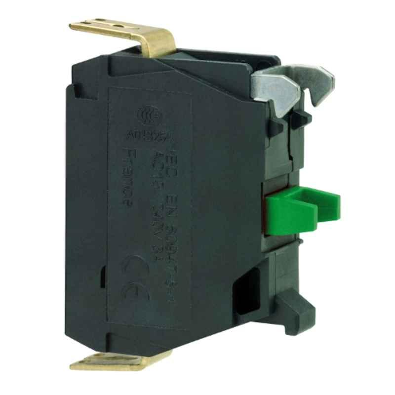 Schneider 1 NO Single Contact Block with Screw Clamp Terminal Connection, ZBE101N