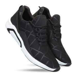 Mr Chief 2023 Black Smart Sports Running Shoes, Size: 9