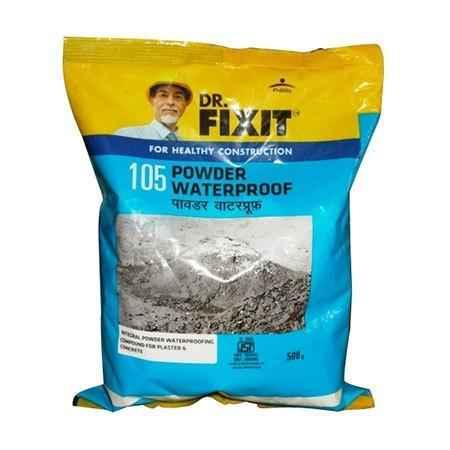 Buy Dr Fixit 0 5kg Waterproof Powder 105 Pack Of 20 Online At Best Price On Moglix