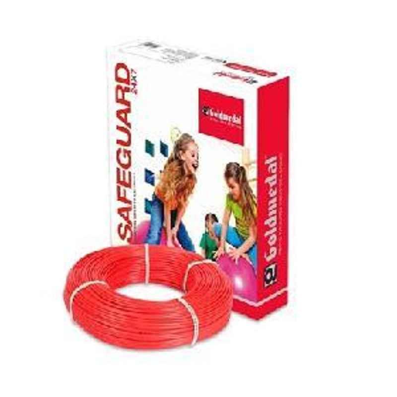 Goldmedal PVC Wire 06104RED 1100V
