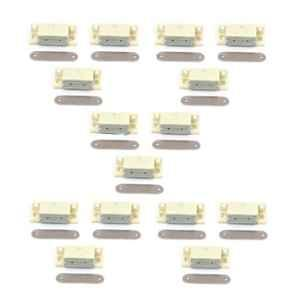 Nixnine Ivory Magnetic Door Stopper, NO3_IVR_15PS _A (Pack of 15)