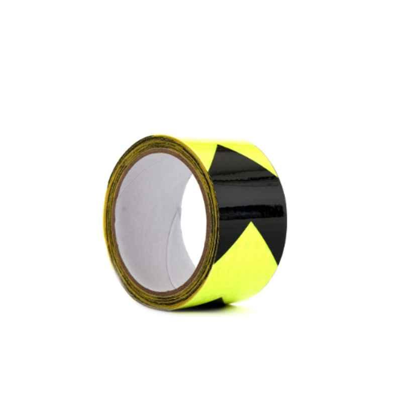 Darit ES-35 5cm Green & Black Self Adhesive Waterproof Arrow Reflective Tape, Length: 5 m